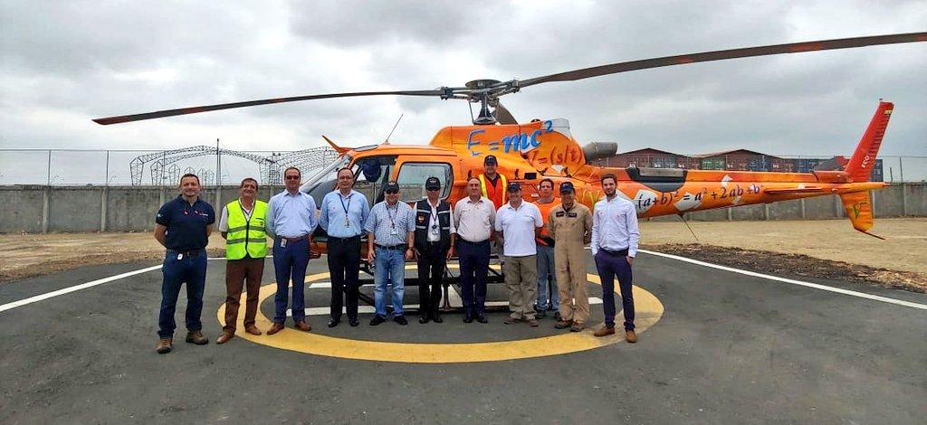 Inicio de Operaciones Ecuador