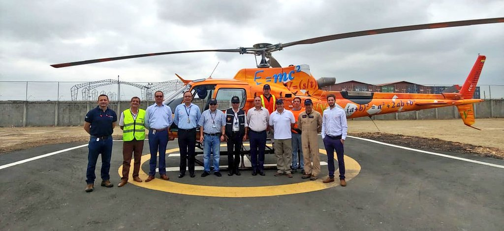 Start of Operations Ecuador